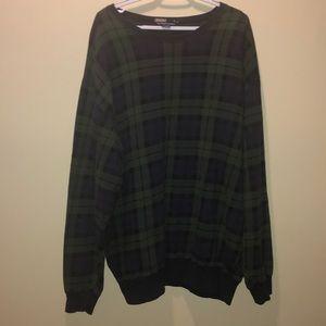 Vintage polo Ralph Lauren green plaid sweater